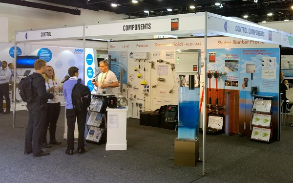 Our Ozwater '15 stand